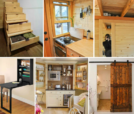 Exceptionnel 27 Space Saving Tricks And Techniques For Tiny Houses