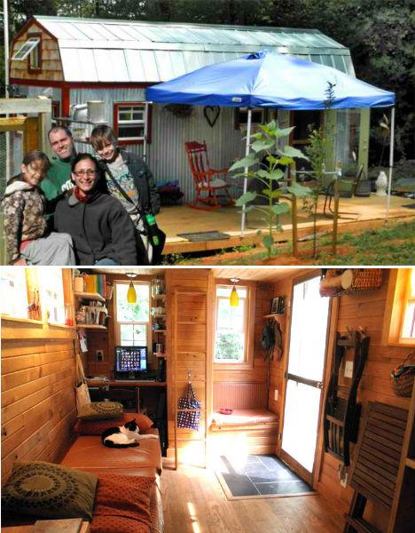 Cheap Eco Homes Salvaged Tiny House