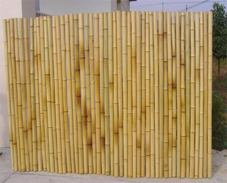 Diy Bamboo Garden Fence Poles Can