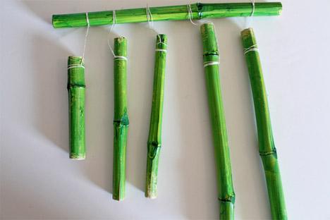 DIY Bamboo Wind Chime