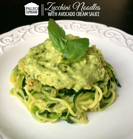 healthy swaps zucchini noodles