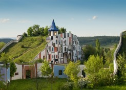 Hobbit Spa: Charming Green-Roofed Complex in Austria