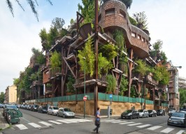 Treehouse Apartment Building: Sustainable and Totally Amazing