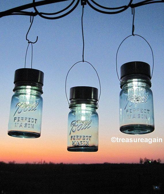 eco etsy mason jar lights
