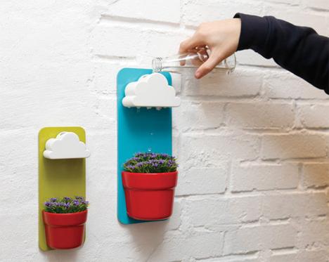 modern cloud planter