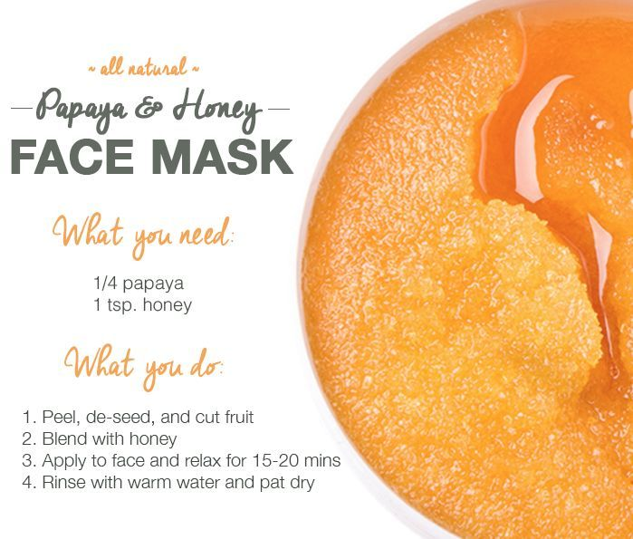 diy beauty recipes papaya