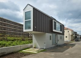 Living Slim: Narrow House Design In Japan