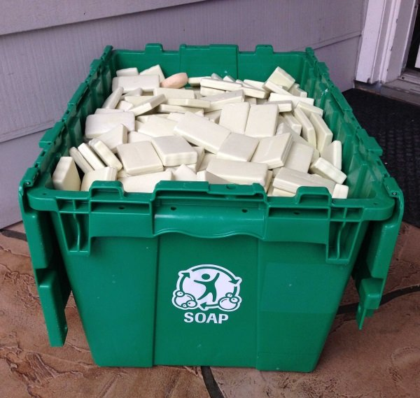 Bar None: Clean The World Recycles Hotel Soap
