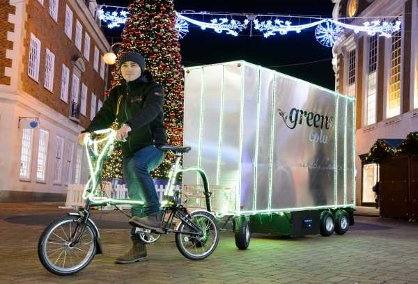 Product Pedaling: Green Cola's Cool Bike Trailer