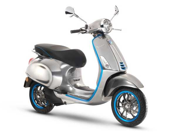 Silent Sting: Vespa Scooters Go Electric In 2018
