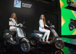 Silent Sting: Vespa Scooters Go Electric