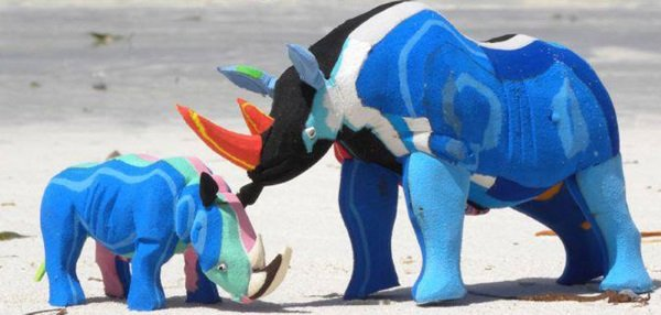Sole Purpose: Recycling Washed Up Flip-Flops Into Art