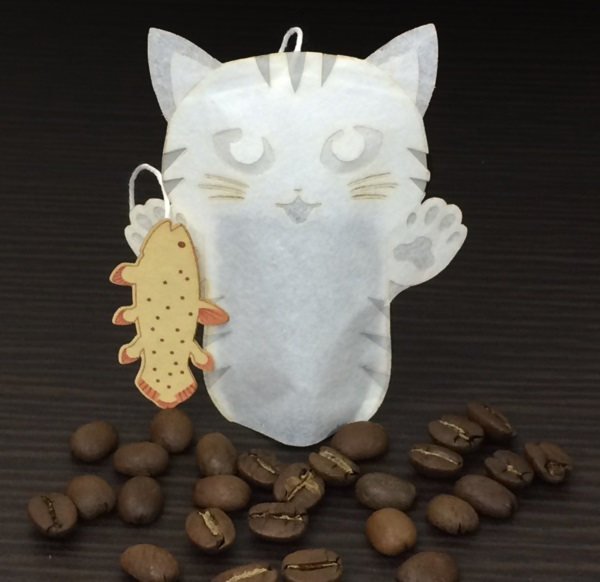 Bag Idea: Disposable Tea Bags Shaped Like Animals