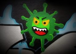 Critical Mask: COVID-19 Graffiti Goes Viral